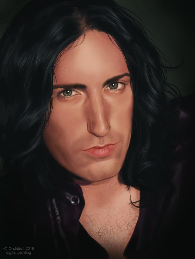 Trent Reznor by Orchidett